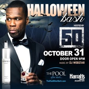 10/31 Epic Halloween with 50 Cent, The Pool After Dark! #AtlanticCity Discount Tickets: ACGuestlist.com