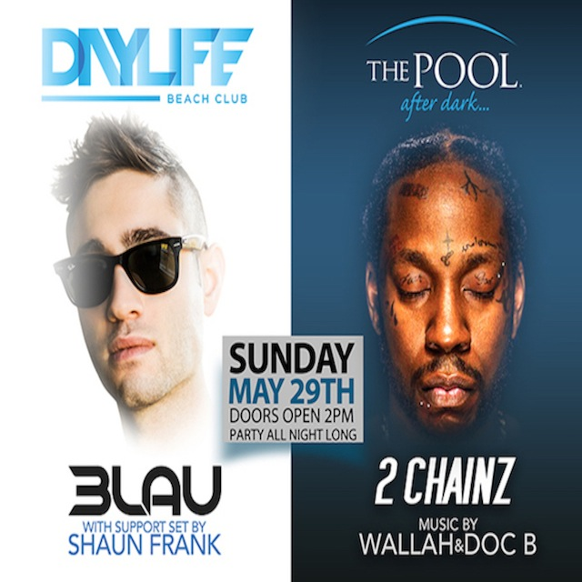 5/29 3LAU, 2 Chainz, MDW 2016 - The Pool After Dark at Harrahs Atlantic City. 14 Hour Party! - ACGuestList.com