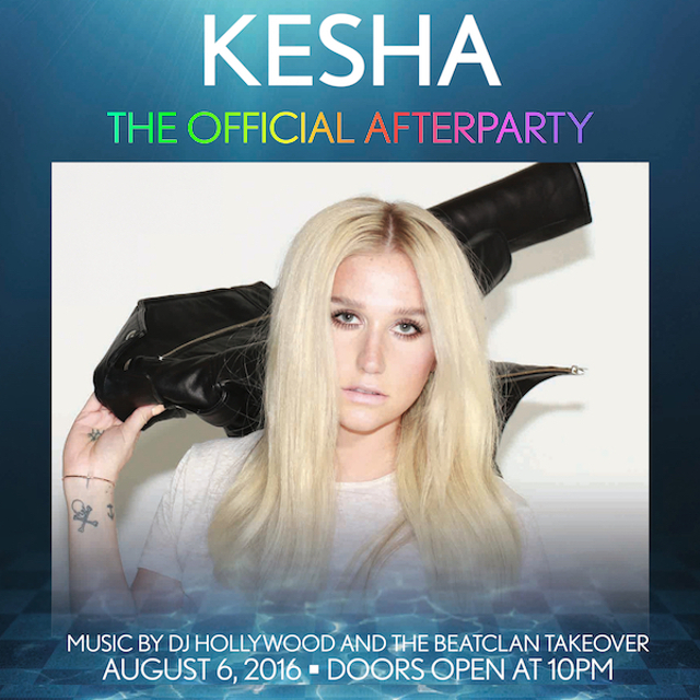 8/6 Kesha Official After Party! Pool After Dark AC Guest List!