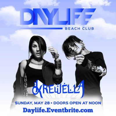 5/28 Day Life! Krewella Performing Live! 12pm-8pm Pool Party MDW 2017 - PreSale Tickets! Visit: www.ACGuestList.com