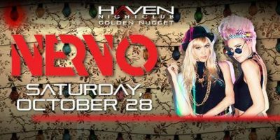 10/28 NERVO Halloween BASH! at Haven Nightclub, AC with Chris Devine! Costume Contest + Cash Prize! Discount Tickets Here: ACGuestList.com