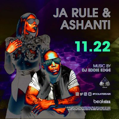 11/22 Ja Rule + Ashanti Performing Live for Thanksgiving Eve! Free Admission Guest List here: ACGuestList.com