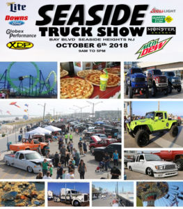 10/6 SEASIDE TRUCK SHOW 2018! - Giveaways Every Hour, Multiple Vendors, Food Trucks, Live Music, Rentals, Wing Eating Contest and more!