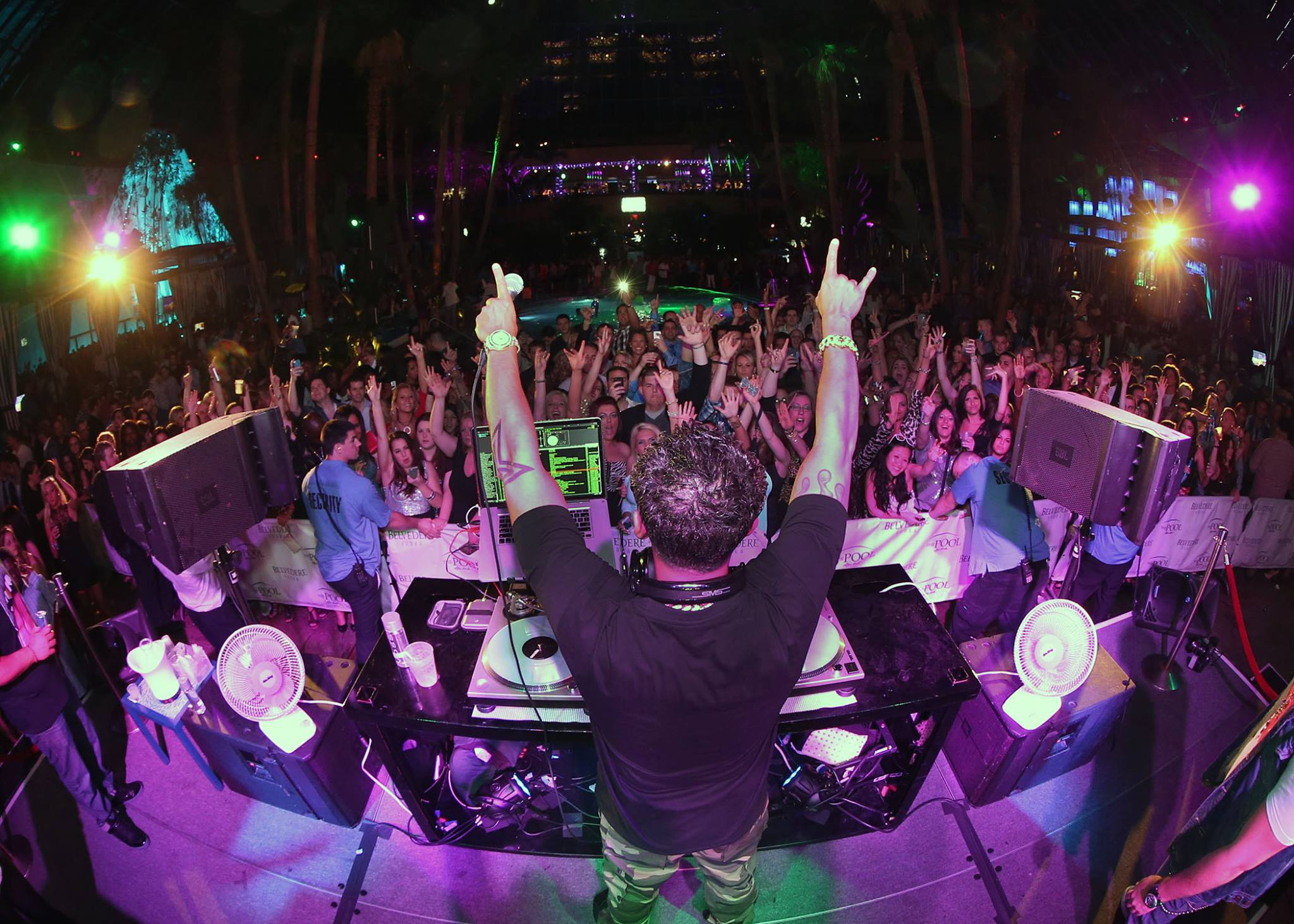 DJ Pauly D LIVE! - Saturday, December 13th The Pool After Dark at Harrahs Resort #AtlanticCity
