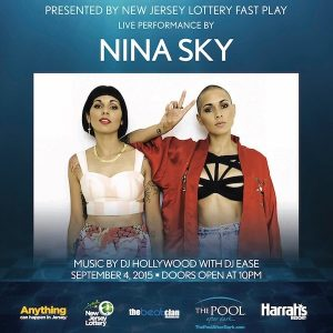 9/4 NinaSky performing LIVE! LDW Free Admission Guestlist! The Pool After Dark Atlantic City - AnyCityPromotions.com