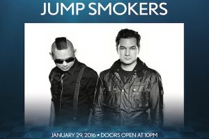 1/29 #JUMPSMOKERS Performing Live! Get on the List for FREE Admission! Visit: AnyCityPromotions.com to sign up.